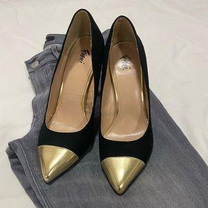 "Fioni Black 4"" Stiletto High Heel Pointy G…"